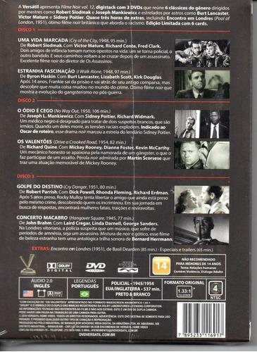 dvd filme noir vol 12 - versatil - bonellihq a19
