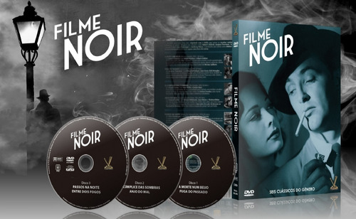 dvd filme noir volume 1 sem cards - versatil - bonellihq l19