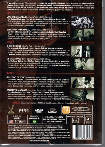 dvd filme noir volume 12 sem cards - versatil bonellihq e19