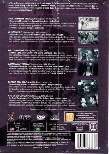 dvd filme noir volume 2 sem cards - bonellihq l19