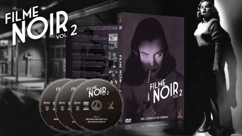 dvd filme noir volume 2 - versatil - bonellihq cx438 h18