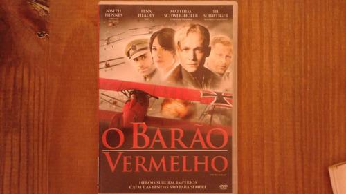 dvd filme: o barão vermelho ( joseph fiennes e lena headey )