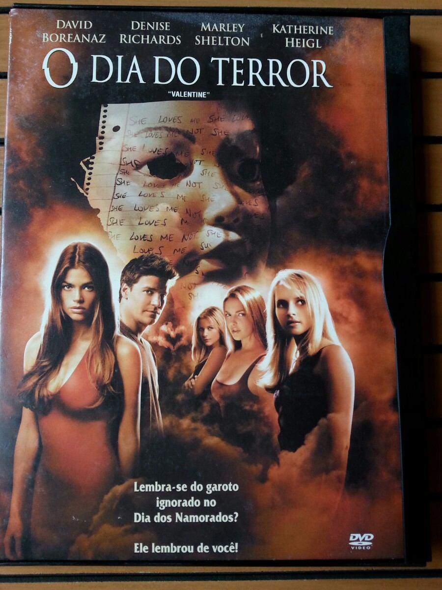 Filme O Dia Do Terror with dvd filme o dia do terror - valentine original e muito novo - r