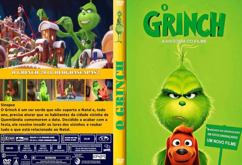 dvd filme o grinch