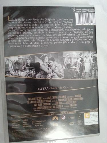 dvd filme o homen que matou o facínora ja 70