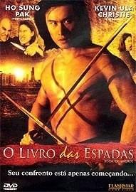 dvd filme - o livro das espadas ( usado) - original