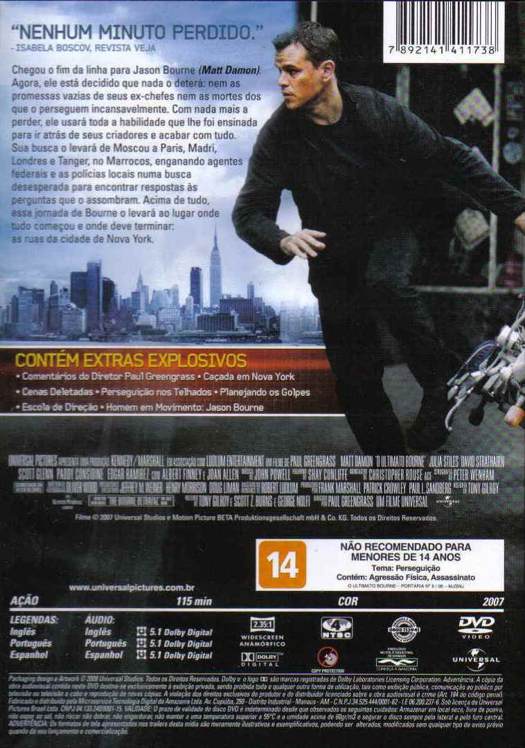 filme o ultimato bourne dublado