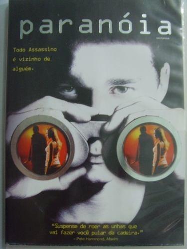 dvd filme paranóia -  dublado