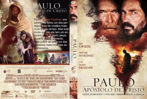 dvd filme - paulo apostolo de cristo (2018)