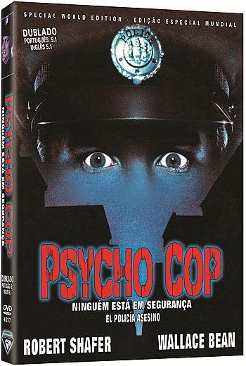 Dvd Filme - Psycho Cop - Ninguém Está Em Segurança - R$ 39,80 em ...