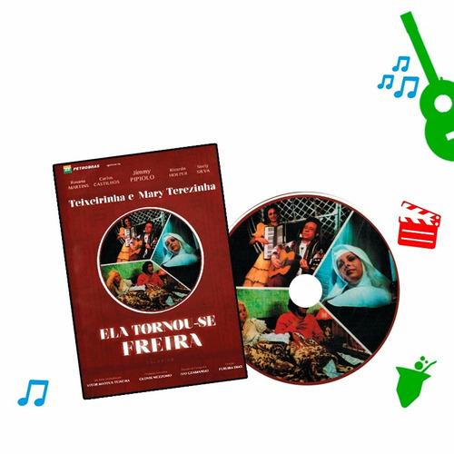 dvd filme teixeirinha - ela tornou-se freira