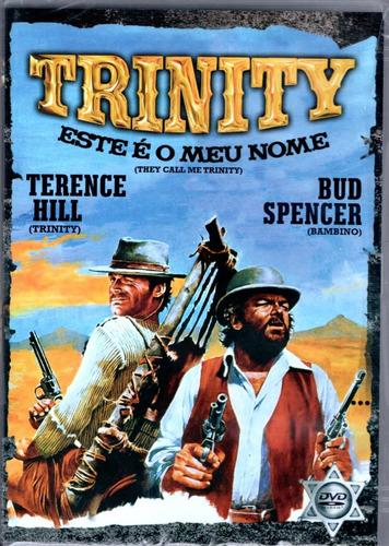 dvd filme trinity este é o meu nome - dublado