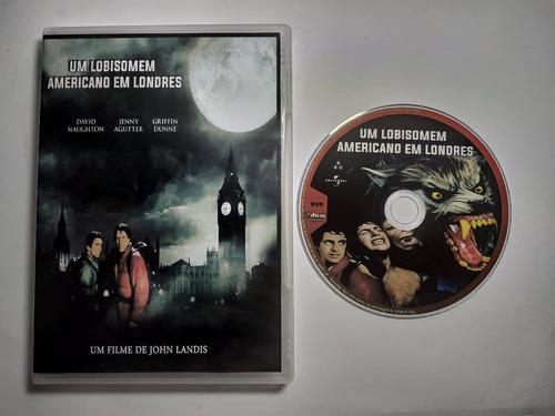 dvd filme - um lobisomem americano em londres (1981)