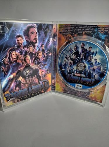 dvd filme - vingadores ultimato (2019) dublado e legendado