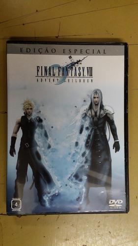 dvd final fantasy vii - advent children