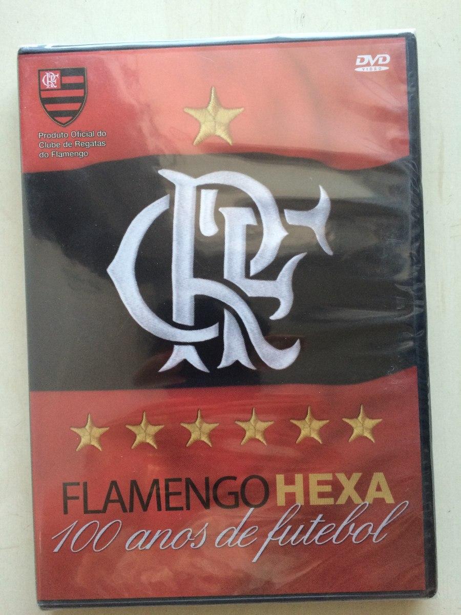 dvd flamengo hexa 100 anos