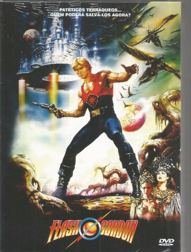 dvd flash gordon o filme - vinyx - bonellihq m20