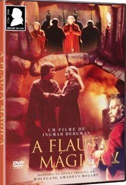 dvd flauta mágica, de ingmar bergman   1975  +