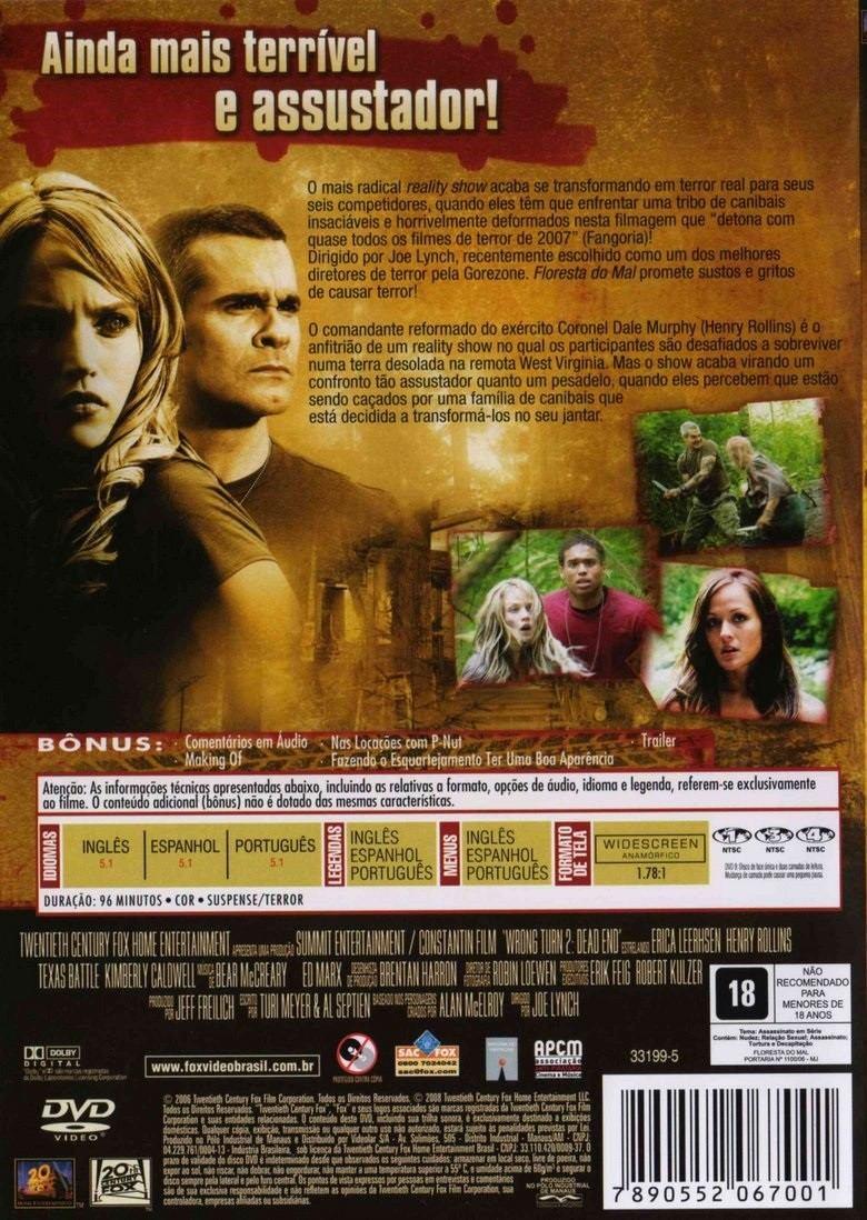Floresta Do Mal Online in dvd floresta do mal - sem cortes - original e lacrado - r$ 22,90