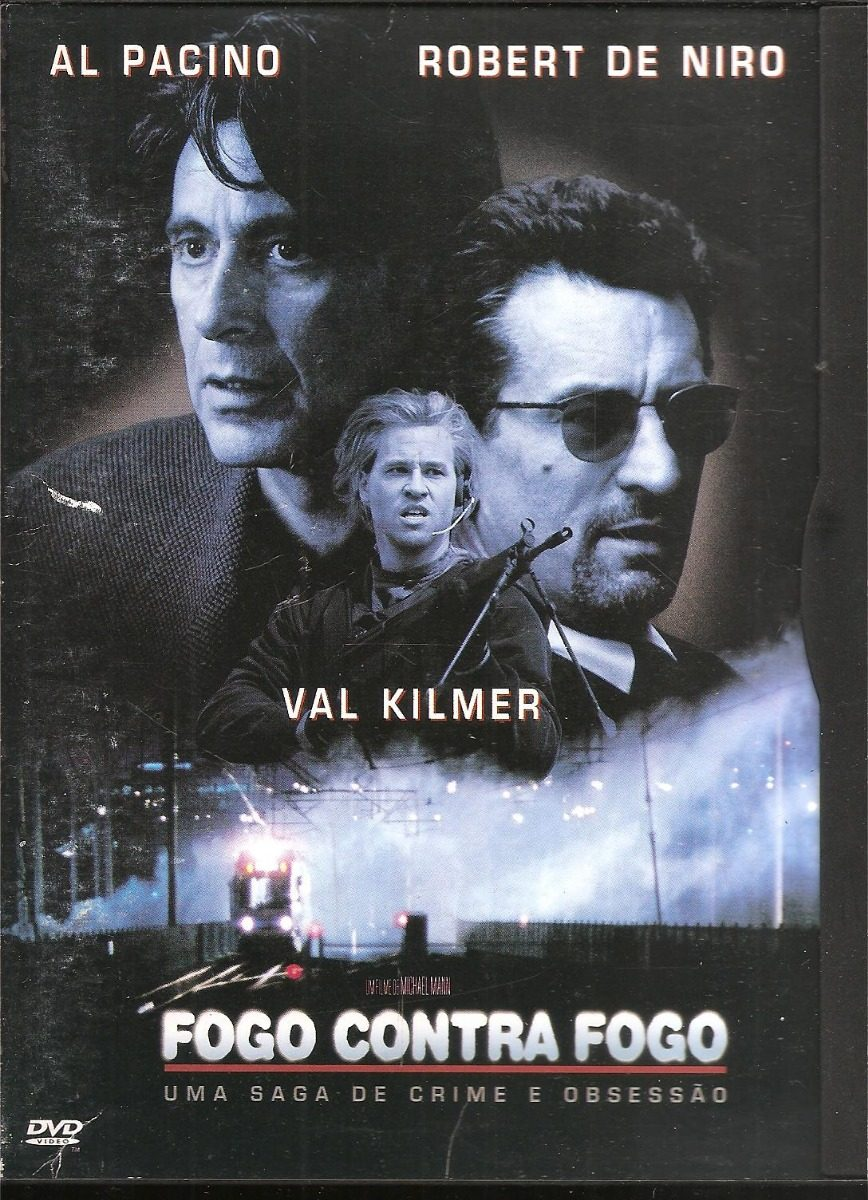 Dvd Fogo Contra Fogo Al Pacino Digipack Warner
