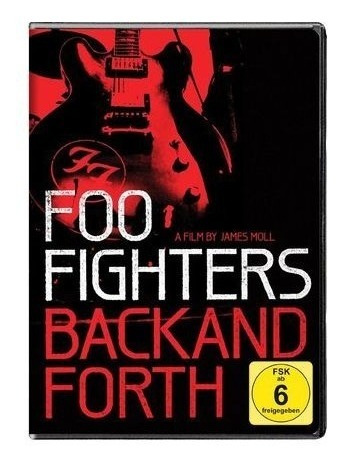 dvd foo fighters -back and for - nuevo