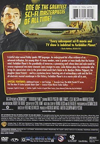 dvd : forbidden planet (full frame, , dubbed, eco amaray...