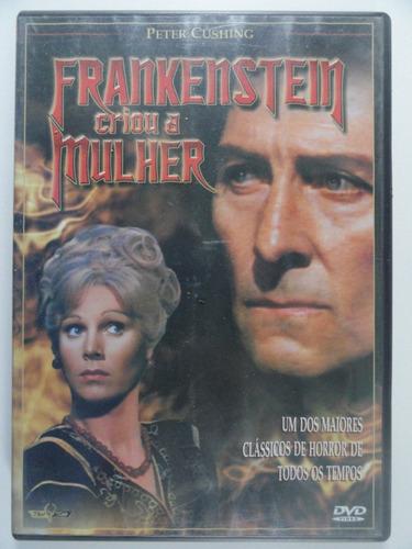 dvd frankenstein  criou a mulher ---------------frete grátis