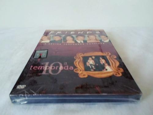 dvd friends 10ª temporada completa 4 discos original lacrado