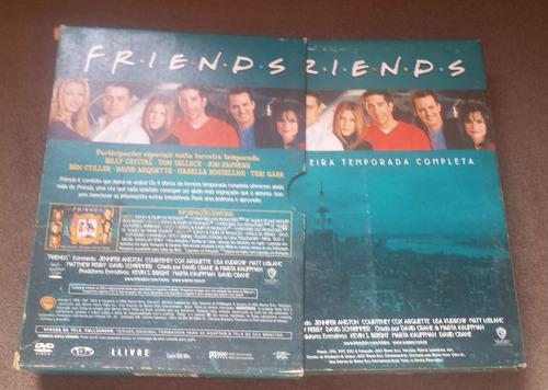 dvd friends 3ª temporada completa