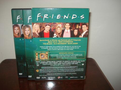 dvd friends 6ª temporada completa, edição em amaray duplo.