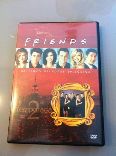 dvd f.r.i.e.n.d.s friends - 5 melhores episódios 2 temporada