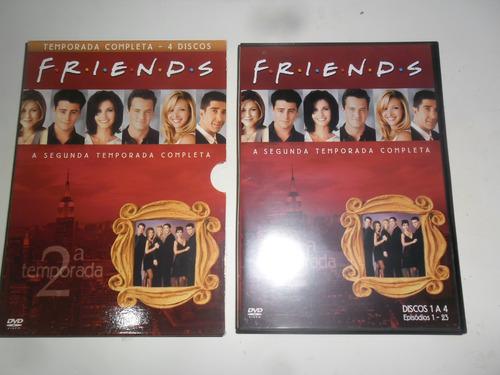 dvd friends segunda temporada completa
