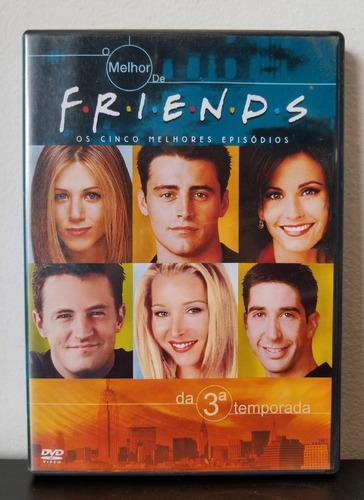 dvd friends temporada 3 - 5 melhores episódios - frete 10,00