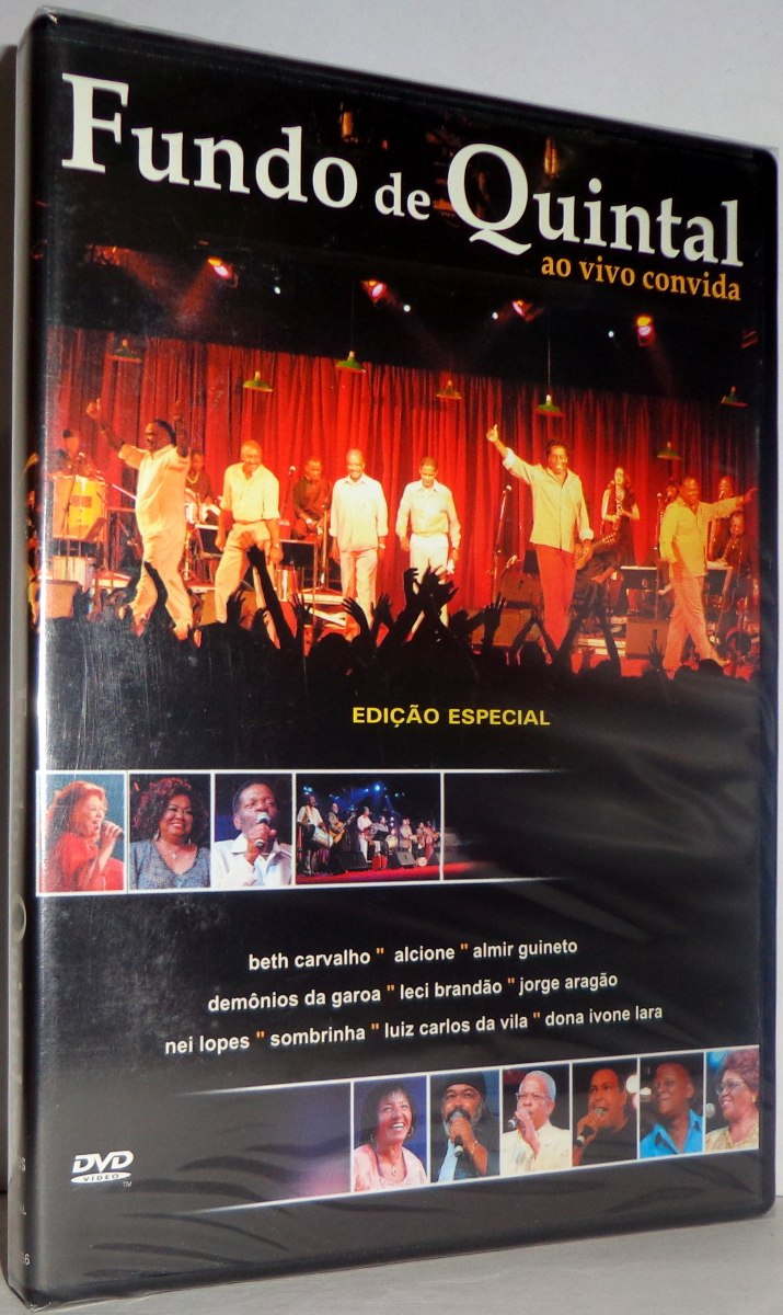 dvd fundo de quintal ao vivo convida
