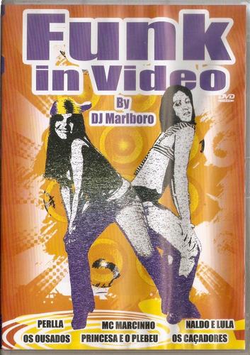 dvd funk in video - by dj marlboro - novo***