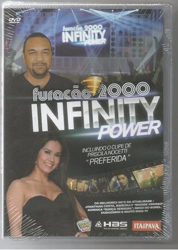 dvd furacao 2000 infinity power original