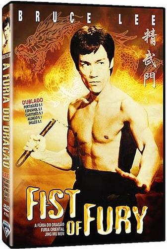 dvd fúria do dragão ( bruce lee ) dublado