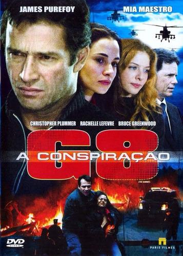 dvd g8 a conspiração (2008) christopher plummer