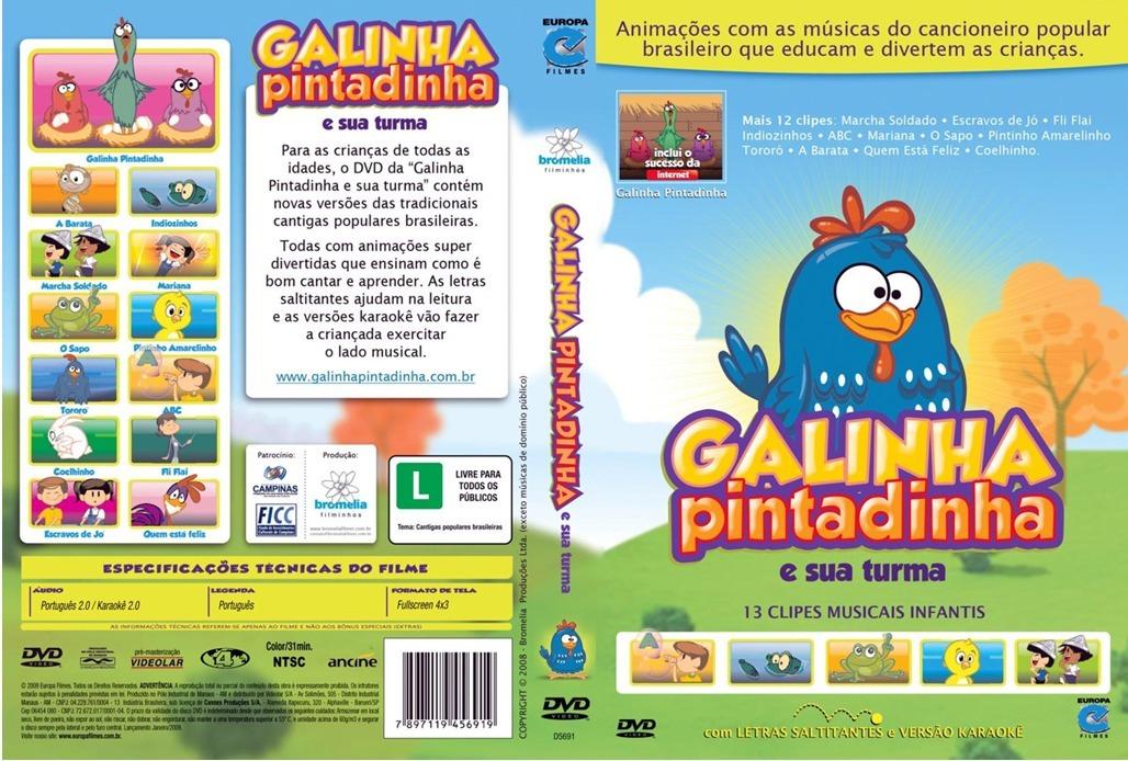 dvd da galinha pintadinha e sua turma gratis