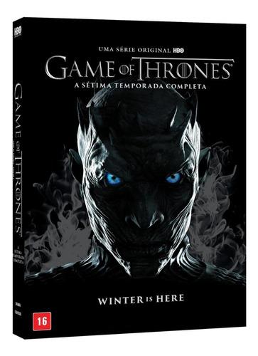 dvd game of thrones - 7ª temporada - 5 discos