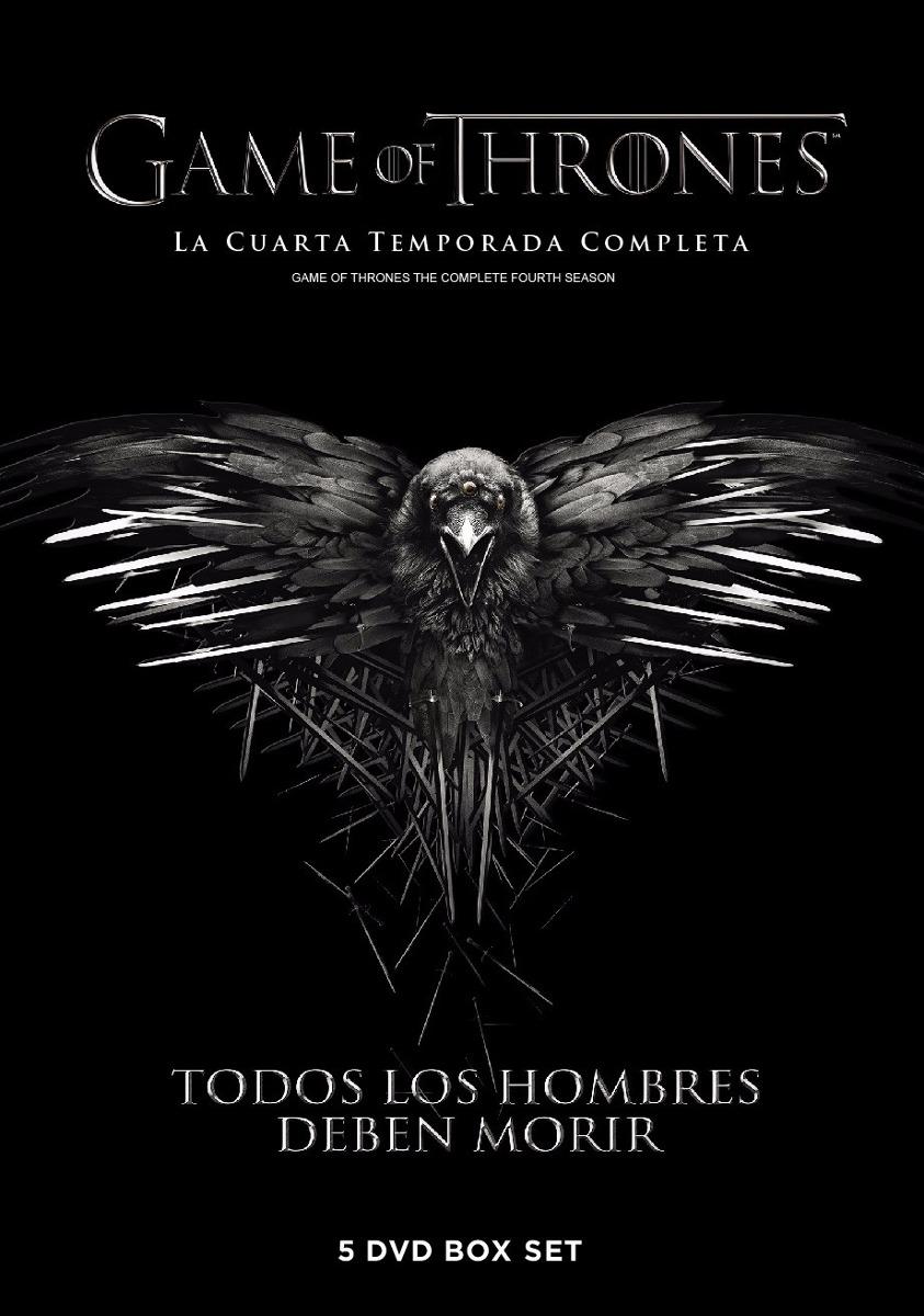 Dvd Game Of Thrones Juego De Tronos Temporada 4 Origin Nueva ...