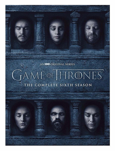 dvd game of thrones season 6 / temporada 6 lenticular