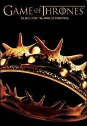 dvd game of thrones temporada 2 nueva cerrada original