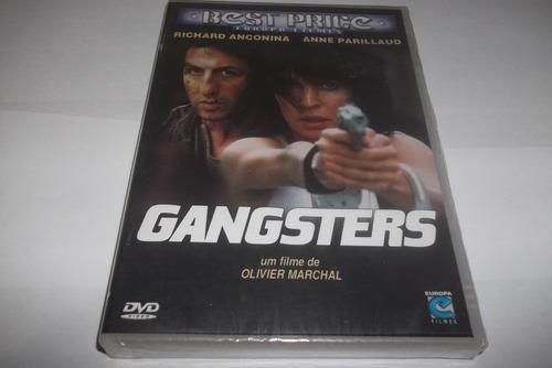 dvd - gangsters - filme francês - anne parillaud - lacrado