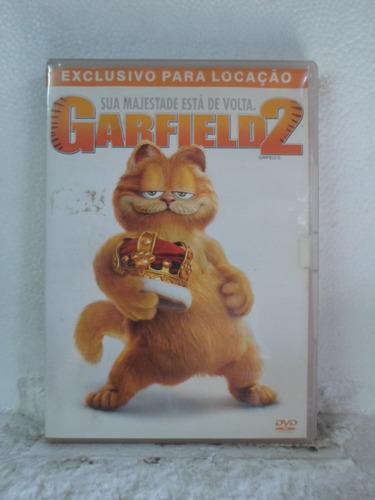 dvd garfield 2 - frete: 8,00