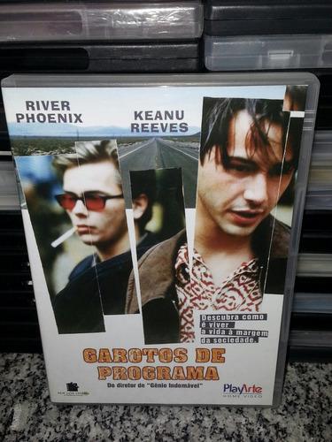 dvd garotos de programa - keanu reeves, river phoenix - raro
