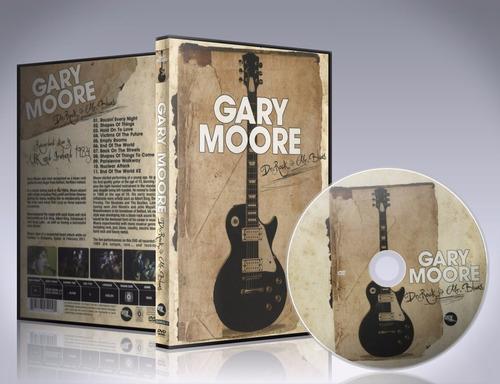 dvd gary moore - dr. rock & mr. blues