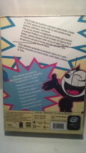dvd gato felix pack 3 discos 48 episodios - dvd original