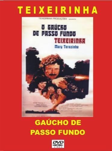 dvd - gaúcho de passo fundo - teixeirinha - 1978