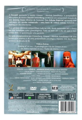 dvd gemeos morbida semelhanca - versatil - bonellihq l19